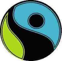 Fairtrade logo circle