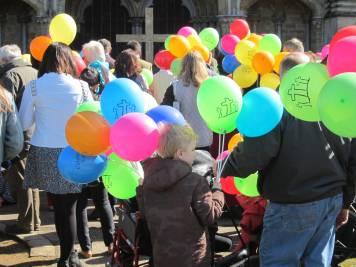 Good Friday Walk of Witness, Salisbury UK