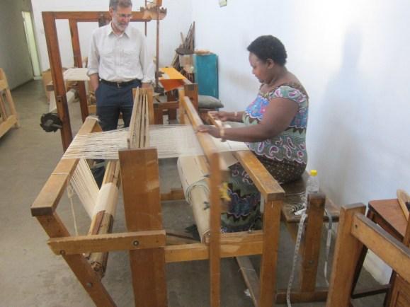 Lusaka, weaver Margaret (9)