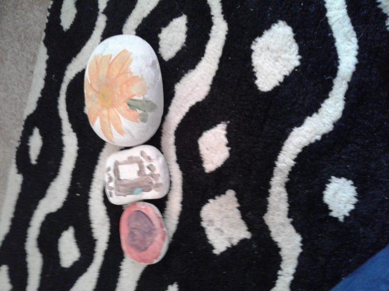 Stone art - Ashley & Ryan (2)