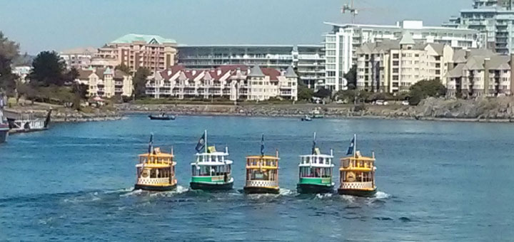 Synchronized ferries