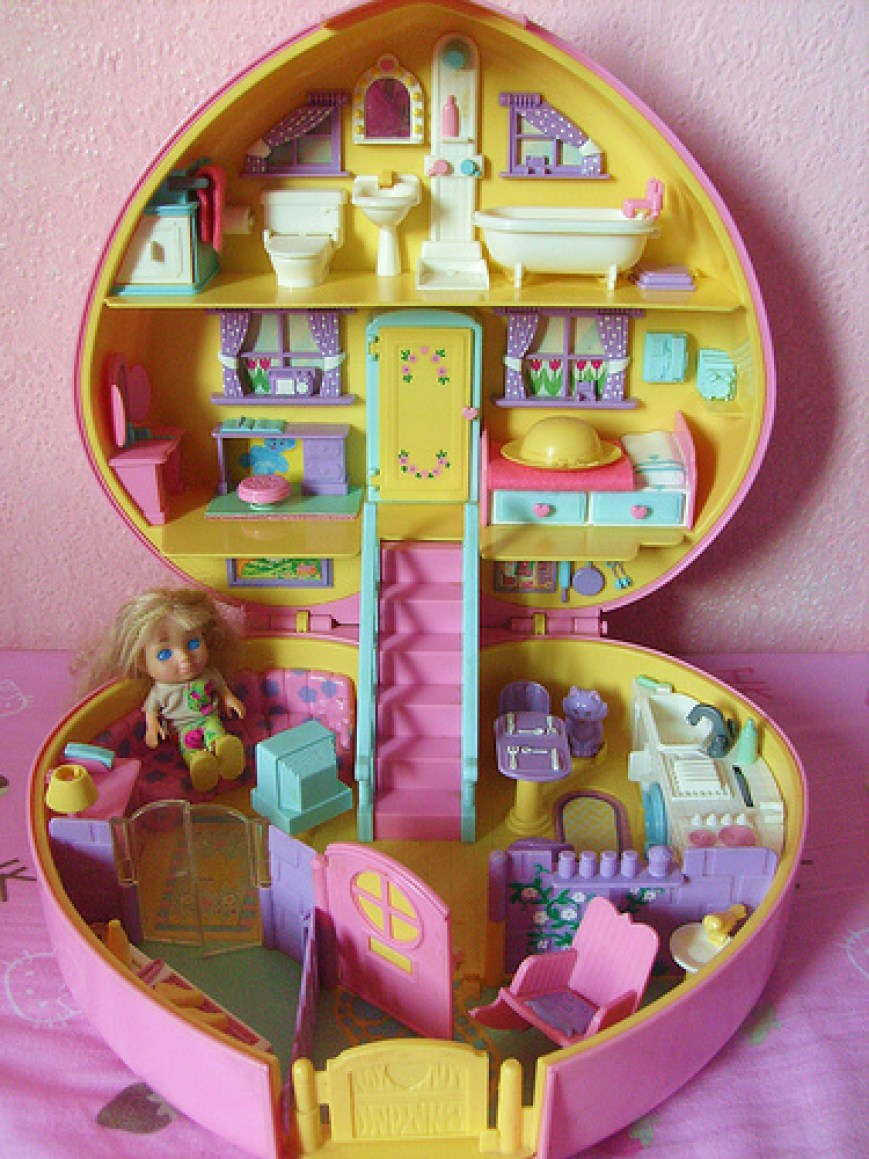 Polly Pocket image from Pintrest.com. Presented by Saljack Enterprises. Gaming. Animation. Media. Entertainment. Woman Owned.