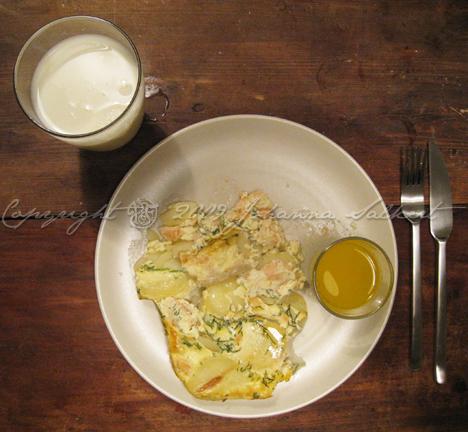 middag-laxpudding