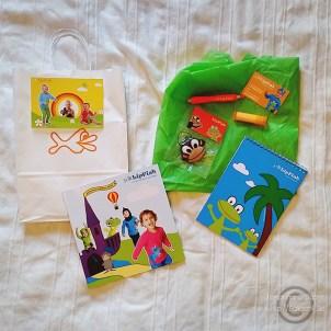En färgglad goodiebag från Lipfish!