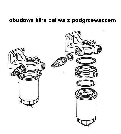 obudowa filtra paliwa Citroen, Peugeot, Fiat 2,5D SOFIM