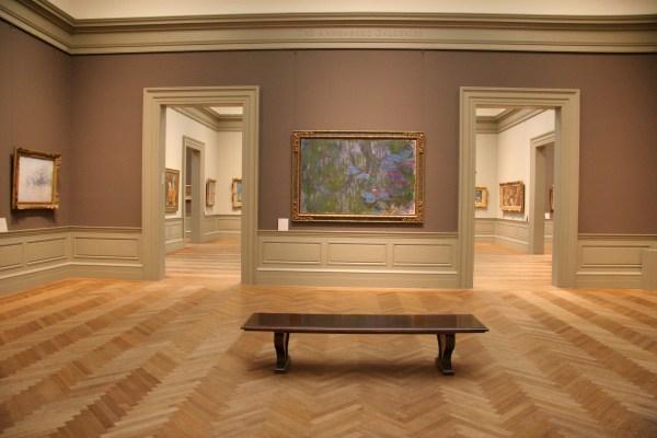 Empty Museum Room