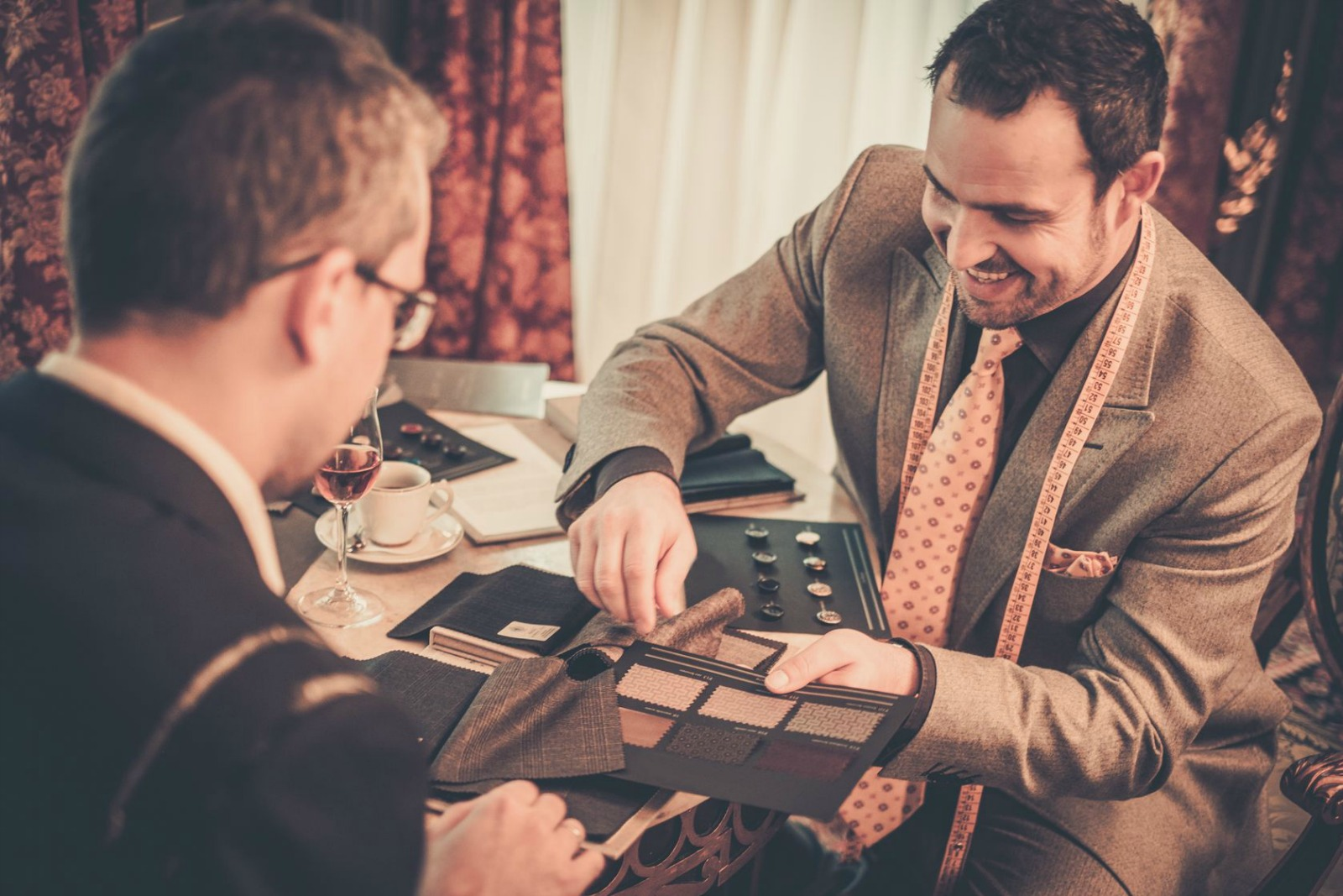 bespoke suits vs off the rack
