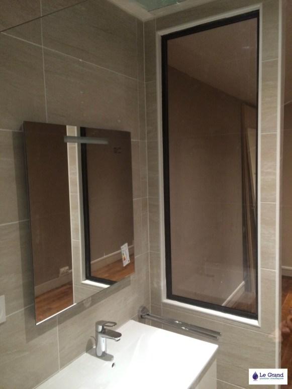 Le Grand Plombier Chauffagiste Rennes Bruz - Salle de bains Rennes - Plomberie - Agencement - Salle de Bains - St Hélier1