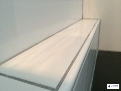 Salle de bains Rennes - Le Grand Plombier Chauffagiste - Receveur Aquabella noir 1