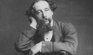 Dickens looks like I feel when I finish reading one of his novels.
