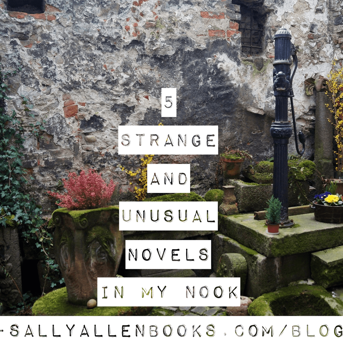 5 strange and unusual novels in my Nook