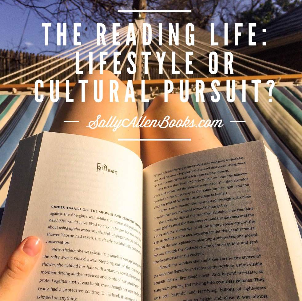 If you had to pick just one, would you call reading a lifestyle or a cultural pursuit?