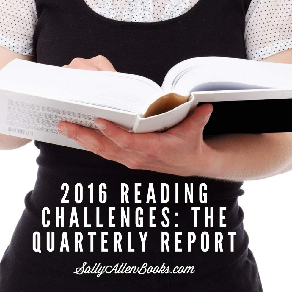 This year brought two highly appealing reading challenges into my life. So how have they been going? It's time for a quarterly report!