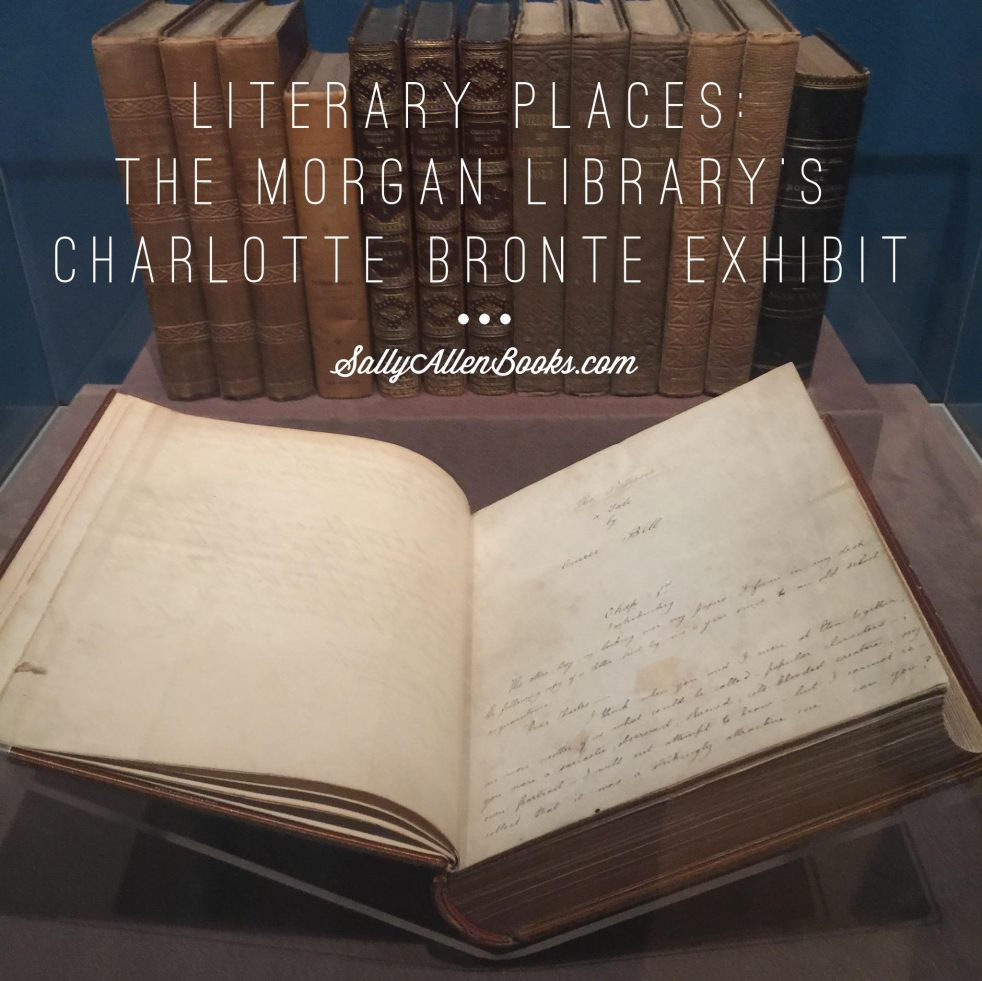 The first novel of Charlotte Bronte displayed at The Morgan Library