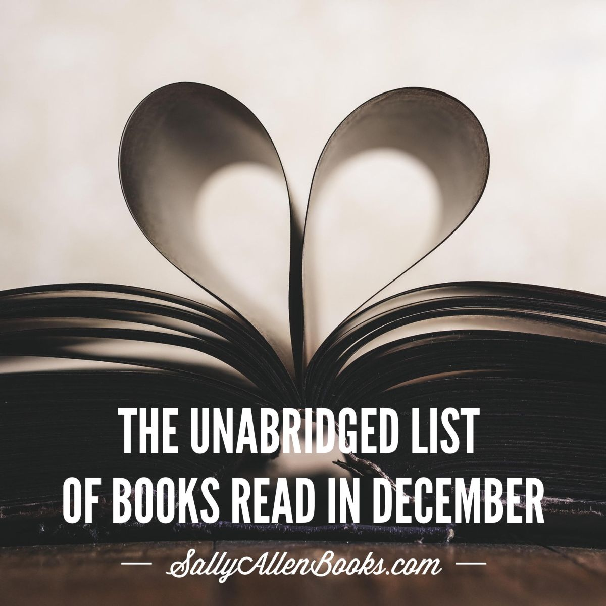The unabridged list of books read in December