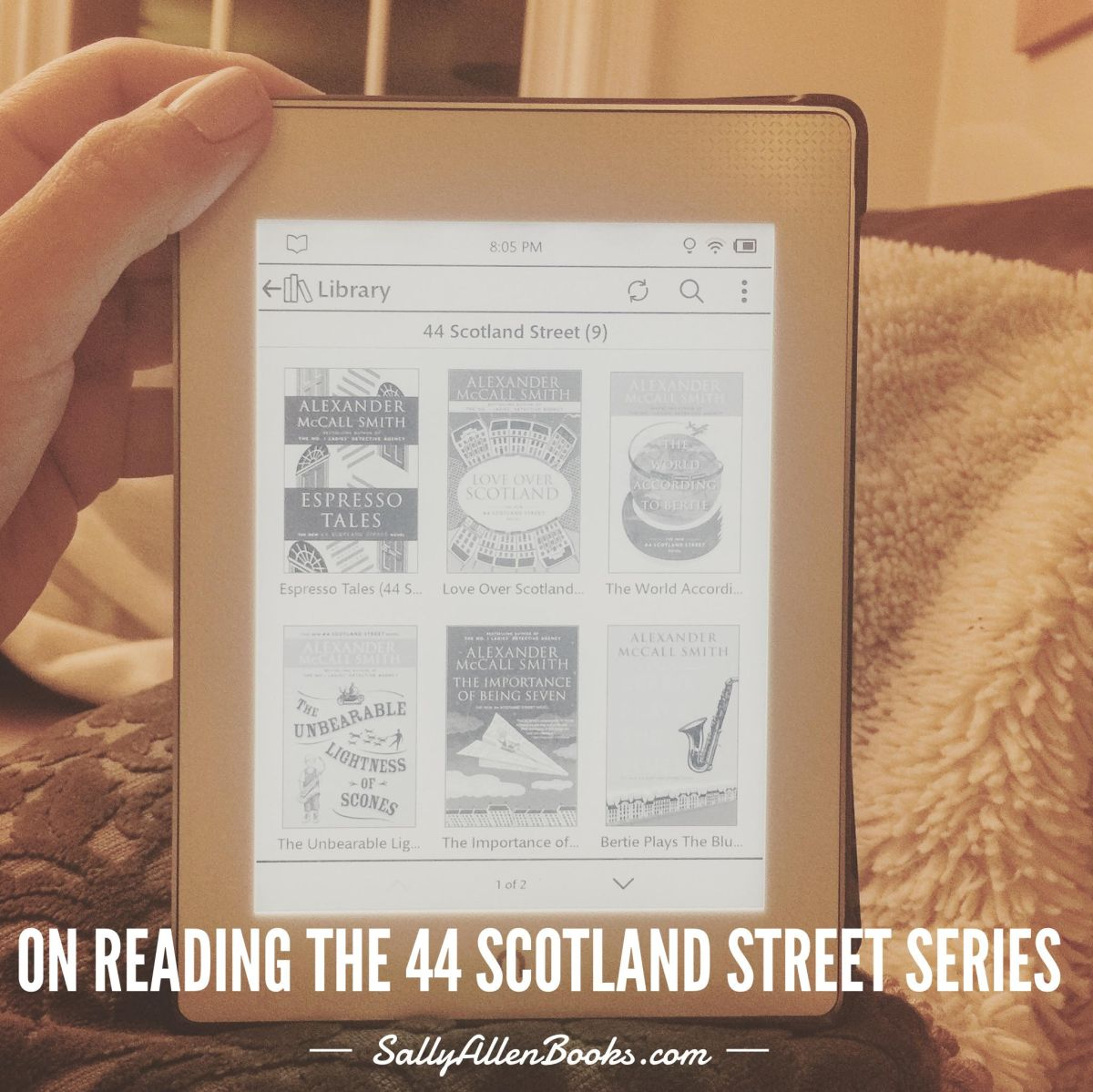 Thoughts on reading book 11 in 44 Scotland Street