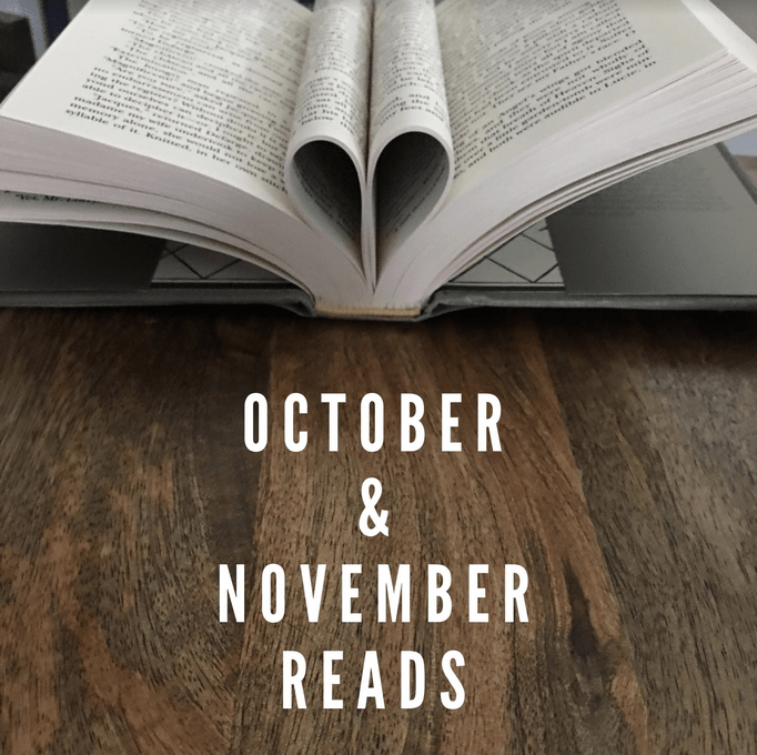 Fall reads: October & November