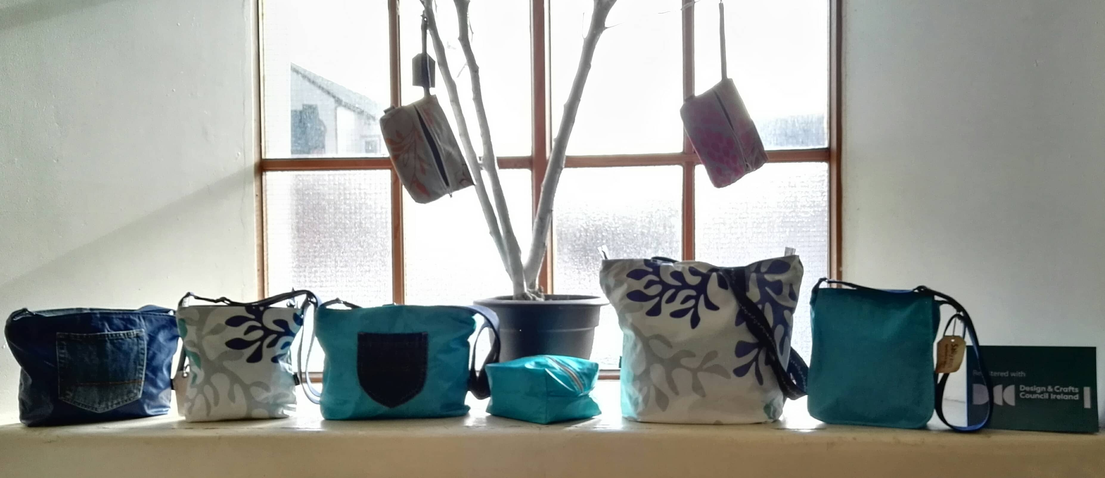Turquoise & Blue Bags