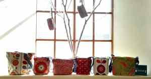 Red, Crimson & Cerise Bags