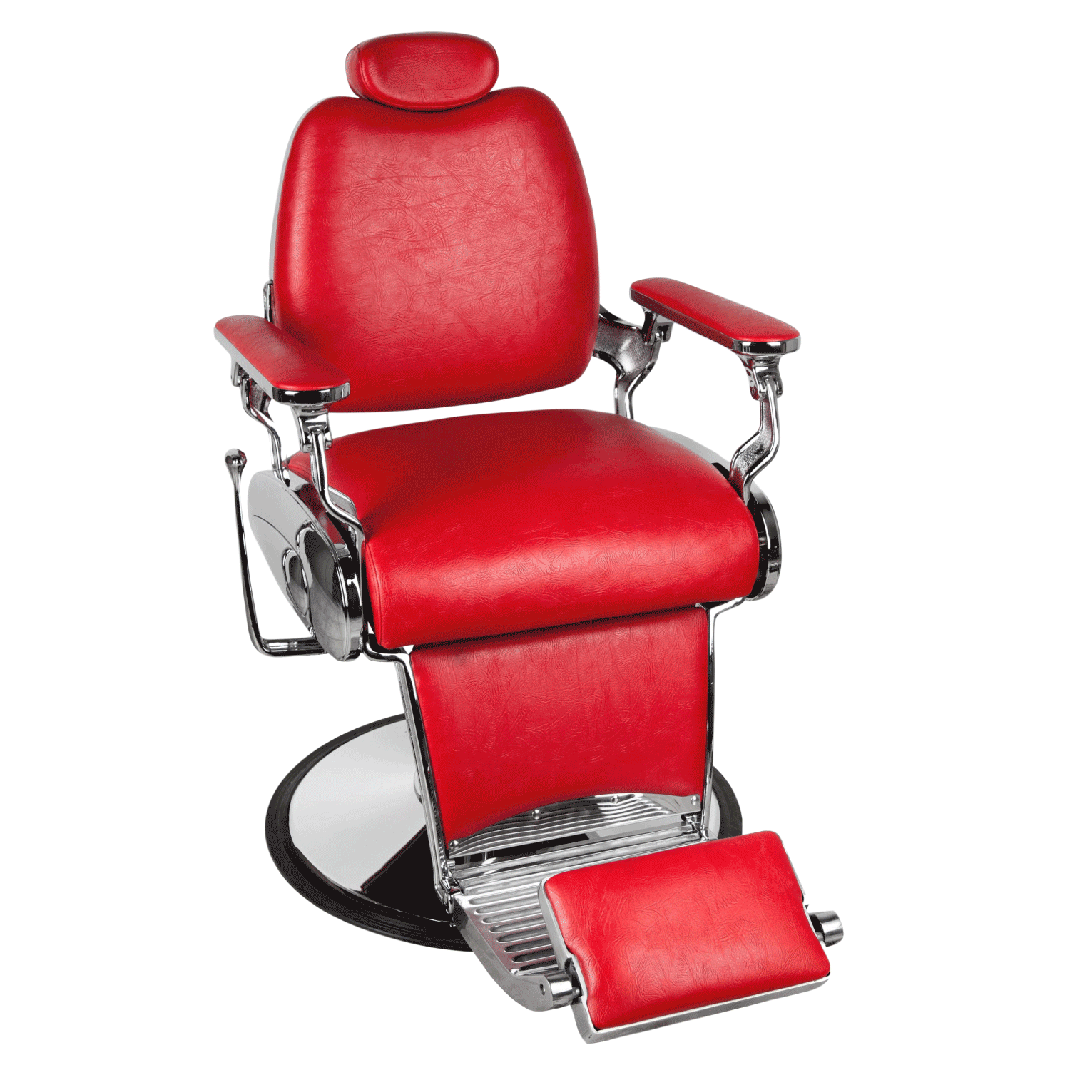 Red Barber Chair Jaguar Red Barber Chair