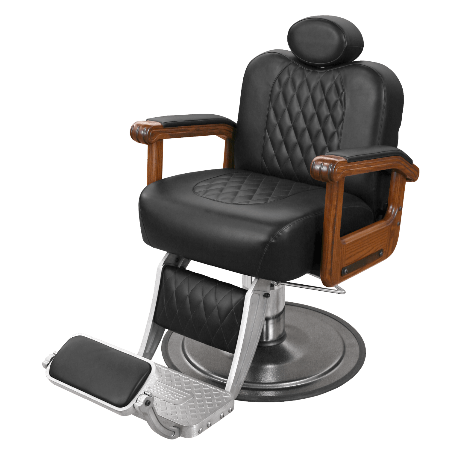 Collins Barber Chair Cavalier Barber Chair With Oak Arms