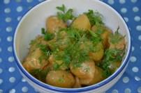 https://sallycooks.com/2014/06/19/spicy-buffalo-potato-salad-and-mustard-vinaigrette-potato-salad/