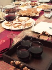 mulled wine e dolci
