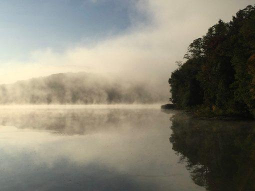 Reservoir in Fog, 2016