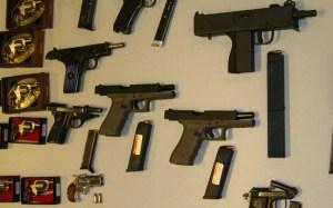 photo of guns