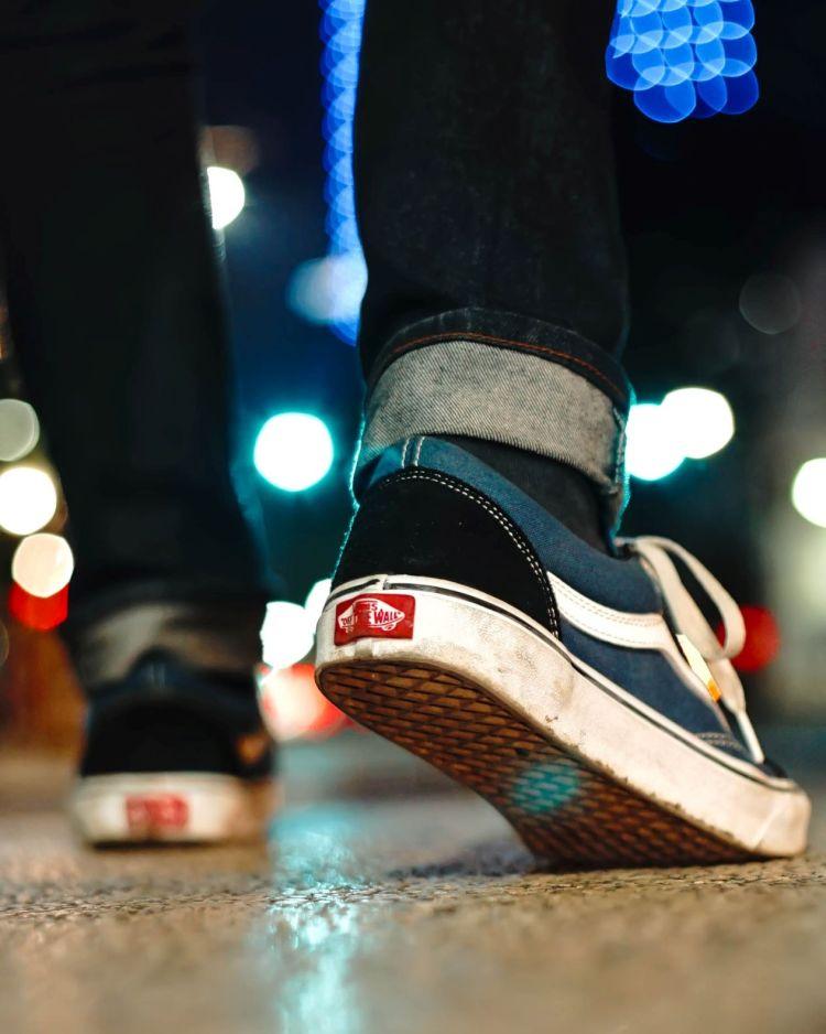 Photo by Matt Tsir on Unsplash sneakers on pavement