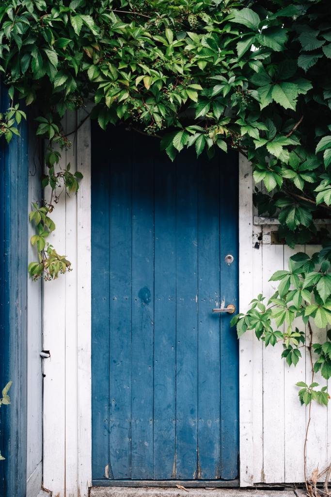 These are images of doors. Blue, white, pink, yellow and sky blue. They are meant to relax my viewers.