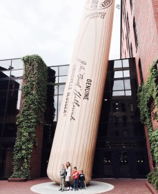 Louisville Slugger Factory Tour