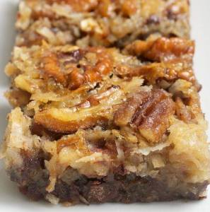 chocolate pie pecan bars