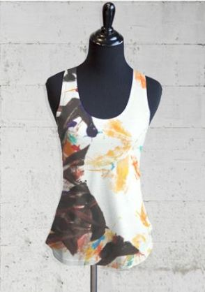 tank top with art