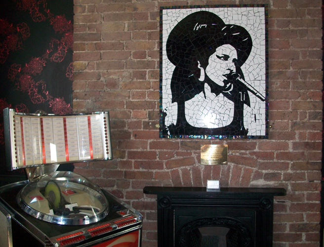 Amy Winehouse Tribute Mosaic