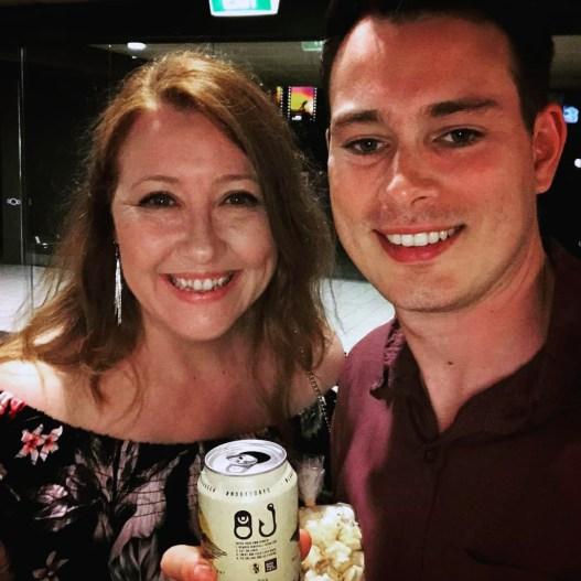 Sally McLean and Shaun Herbertson at NIFF 2018
