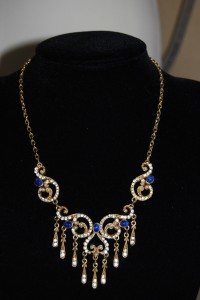 Sphinx Victorian revival necklace