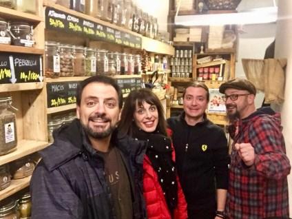 Juan Solo, Montse, Mario y Juan