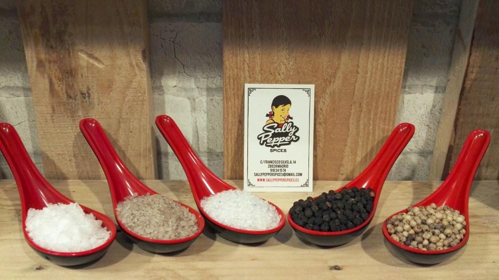 Sally Pepper-Spices-Tienda-Especias-Madrid-sal-ahumada-azul zafiro-pimienta-Tellicherry-Sarawak-Persia