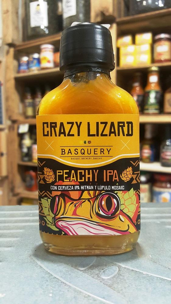 sally pepper-spices-tienda-salsas picantes-madrid-crazy lizard-peachy-ipa