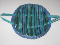 dyed cane tension platter