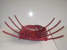 cane platter