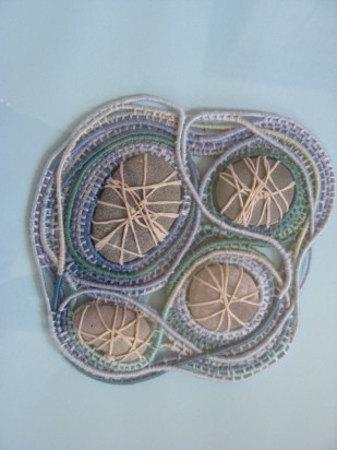 coiled pebbles