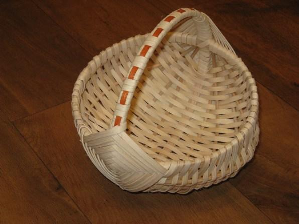 cane/reed egg basket