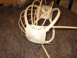 cane/reed egg basket