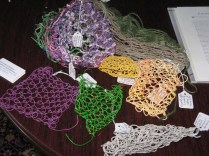 Netting and looping samples