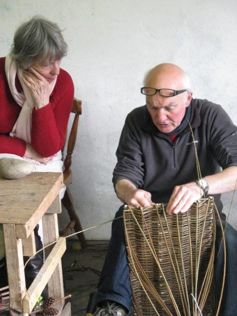 Joe Hogan teaching Gail Romanes