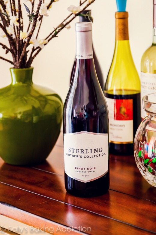 Wine for Strawberry Pomegranate Sangria