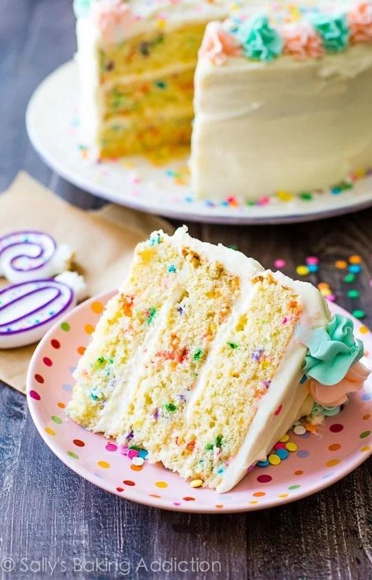 Funfetti Layer Cake Sallys Baking Addiction