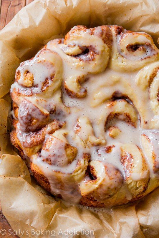 Easy Slow Cooker Cinnamon Rolls  Sallys Baking Addiction